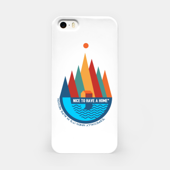 Thumbnail image of Nice to Have a Home (especially in Alps) iPhone Case, Live Heroes