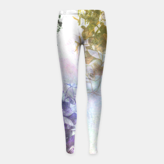 Thumbnail image of rob Girl's Leggings, Live Heroes