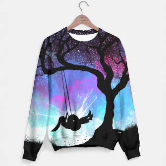 Thumbnail image of Girl Star in the Hammock Sudadera, Live Heroes