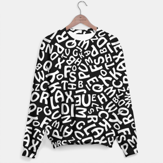 Thumbnail image of Alphabet Sweater, Live Heroes