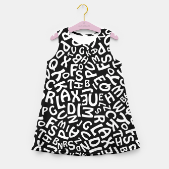 Thumbnail image of Alphabet Girl's Summer Dress, Live Heroes