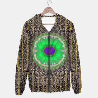 Thumbnail image of in the stars and pearls is a flower Hoodie, Live Heroes