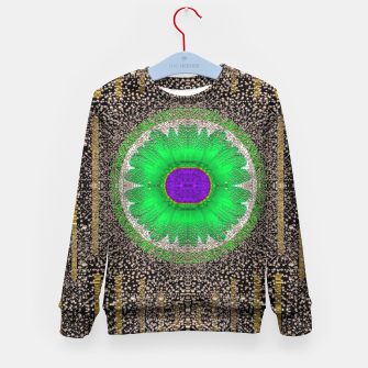 Thumbnail image of in the stars and pearls is a flower Kid's Sweater, Live Heroes