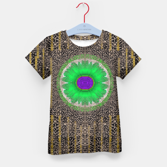 Thumbnail image of in the stars and pearls is a flower Kid's T-shirt, Live Heroes