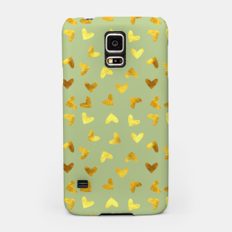 Thumbnail image of Gold Clouds green Samsung Case, Live Heroes