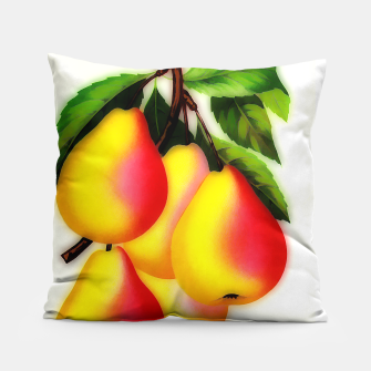 Thumbnail image of vintage pears Pillow, Live Heroes