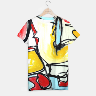 Thumbnail image of abstract Camiseta, Live Heroes