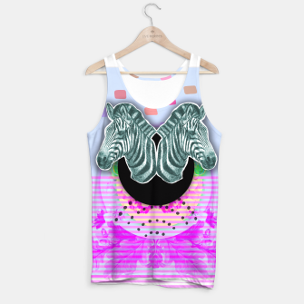 Thumbnail image of ZEBRA STYLE Tank Top, Live Heroes