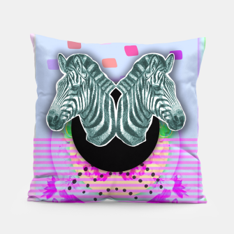 Thumbnail image of ZEBRA STYLE Pillow, Live Heroes