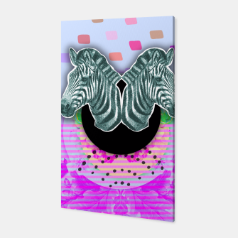 Thumbnail image of ZEBRA STYLE Canvas, Live Heroes