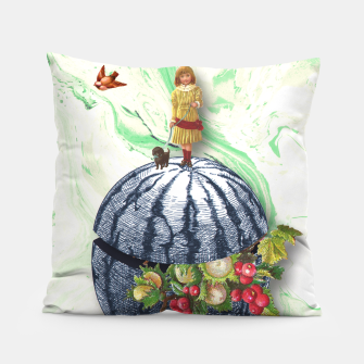 Thumbnail image of WATERMELON WALK Pillow, Live Heroes