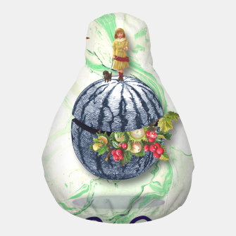 Thumbnail image of WATERMELON WALK Pouf, Live Heroes