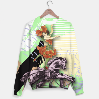 Thumbnail image of RIDING HORSE Sweater, Live Heroes