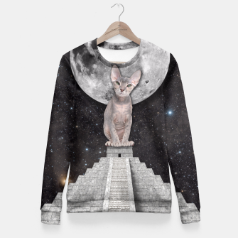 Thumbnail image of THE CAT Fitted Waist Sweater, Live Heroes