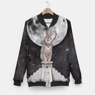 Thumbnail image of THE CAT Baseball Jacket, Live Heroes