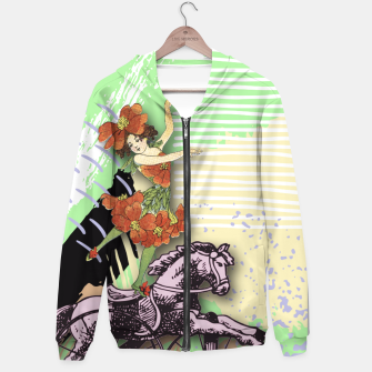 Thumbnail image of RIDING HORSE Hoodie, Live Heroes