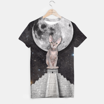 Thumbnail image of THE CAT T-shirt, Live Heroes