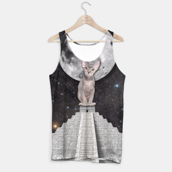 Thumbnail image of THE CAT Tank Top, Live Heroes