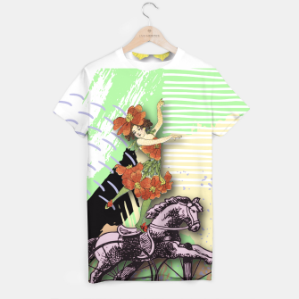 Thumbnail image of RIDING HORSE T-shirt, Live Heroes