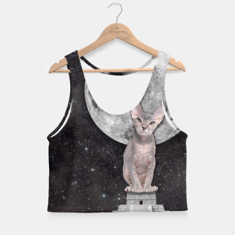 Thumbnail image of THE CAT Crop Top, Live Heroes