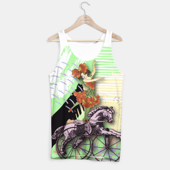 Thumbnail image of RIDING HORSE Tank Top, Live Heroes
