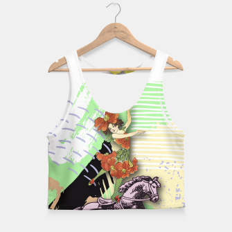 Thumbnail image of RIDING HORSE Crop Top, Live Heroes