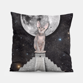 Thumbnail image of THE CAT Pillow, Live Heroes
