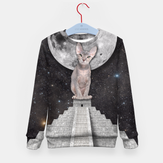 Thumbnail image of THE CAT Kid's Sweater, Live Heroes