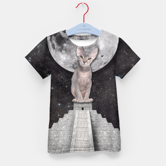 Thumbnail image of THE CAT Kid's T-shirt, Live Heroes