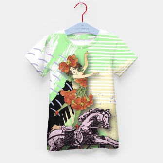 Thumbnail image of RIDING HORSE Kid's T-shirt, Live Heroes