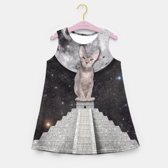 Thumbnail image of THE CAT Girl's Summer Dress, Live Heroes