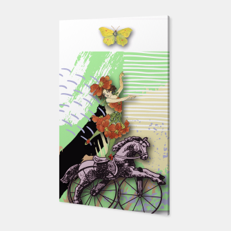 Thumbnail image of RIDING HORSE Canvas, Live Heroes