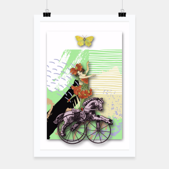 Thumbnail image of RIDING HORSE Poster, Live Heroes