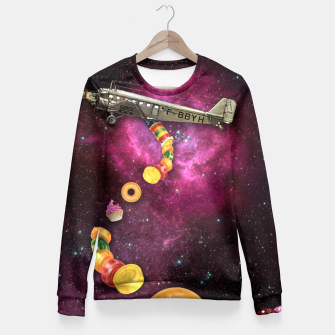 Thumbnail image of CANDY CRASH Fitted Waist Sweater, Live Heroes