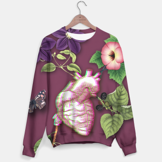 Thumbnail image of RIPENED HEART  Sweater, Live Heroes