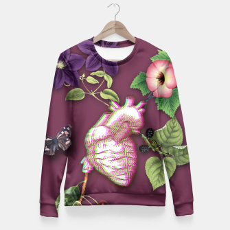 Thumbnail image of RIPENED HEART  Fitted Waist Sweater, Live Heroes