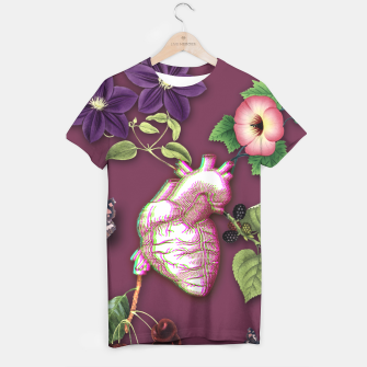 Thumbnail image of RIPENED HEART  T-shirt, Live Heroes