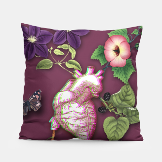 Thumbnail image of RIPENED HEART  Pillow, Live Heroes