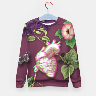 Thumbnail image of RIPENED HEART  Kid's Sweater, Live Heroes