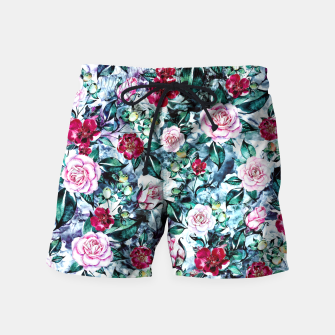 Thumbnail image of Beautiful Garden Swim Shorts, Live Heroes