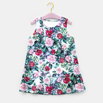 Thumbnail image of Beautiful Garden Girl's Summer Dress, Live Heroes