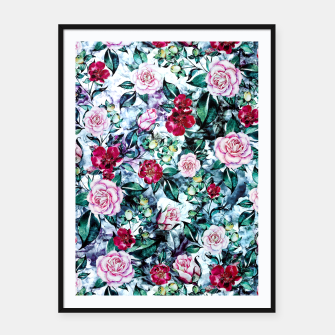 Thumbnail image of Beautiful Garden Framed poster, Live Heroes