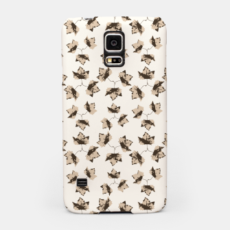Thumbnail image of Autumn Leaves Motif Pattern Samsung Case, Live Heroes