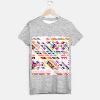 Thumbnail image of Pattern design  T-shirt regular, Live Heroes