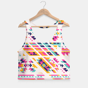 Thumbnail image of Pattern design  Crop Top, Live Heroes