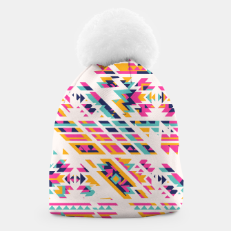 Thumbnail image of Pattern design  Beanie, Live Heroes