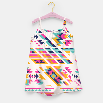 Thumbnail image of Pattern design  Girl's Dress, Live Heroes