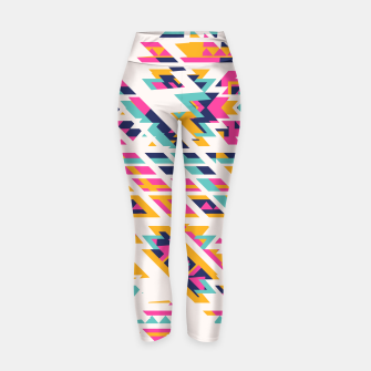 Thumbnail image of Pattern design  Yoga Pants, Live Heroes