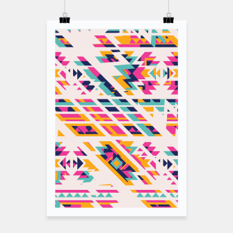 Miniatur Pattern design  Poster, Live Heroes