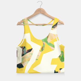 Thumbnail image of Camouflage XXXV Crop Top, Live Heroes